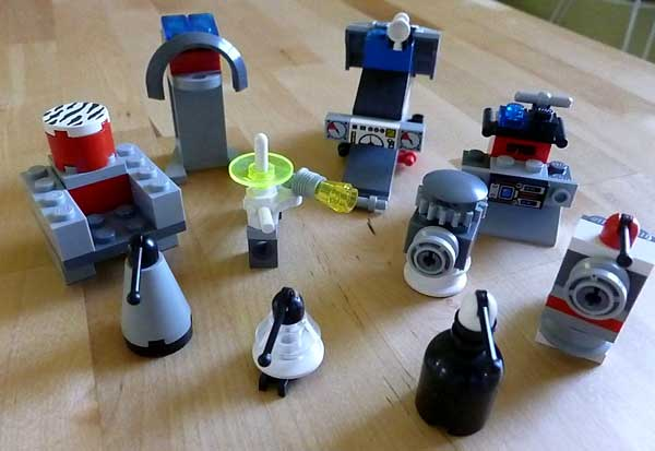 Building robots out of LEGO bricks