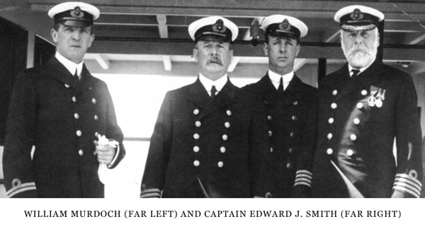 Titanic crew and captain