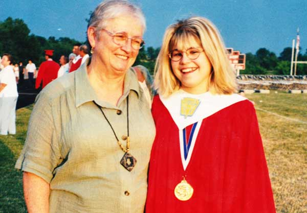 1999 graduation from Dover Area High School
