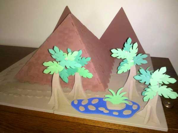 Foam pyramid kit