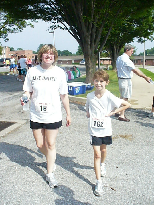 Mother-daughter 5K run