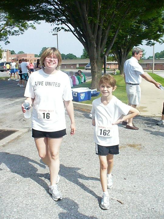 Mother-daughter 5K run