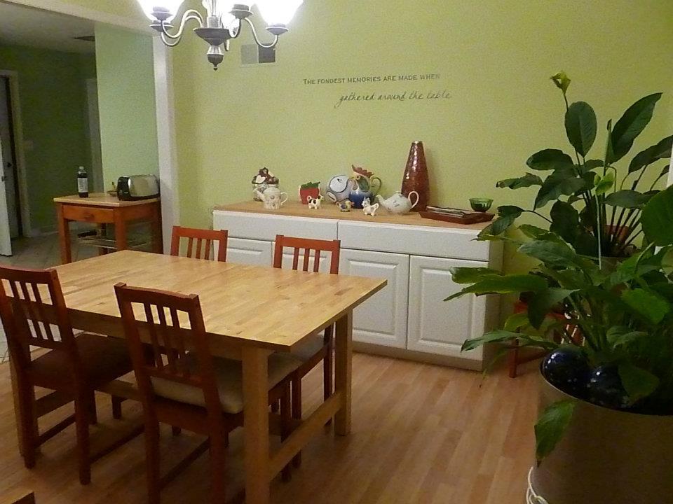 Homeschoolers' dining room