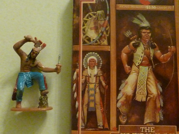 Creating a model of The Indian in the Cupboard