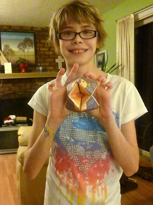 How To Make A Lion Style Paper Fortune Teller Courtesy Of Sarah And