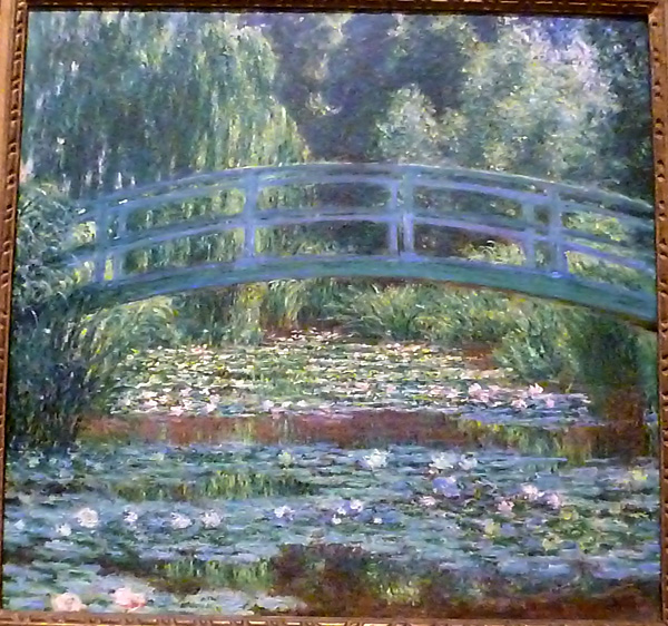 Monet painting in the Philadelphia Museum of Art