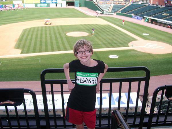 Attending a York Revolution baseball game