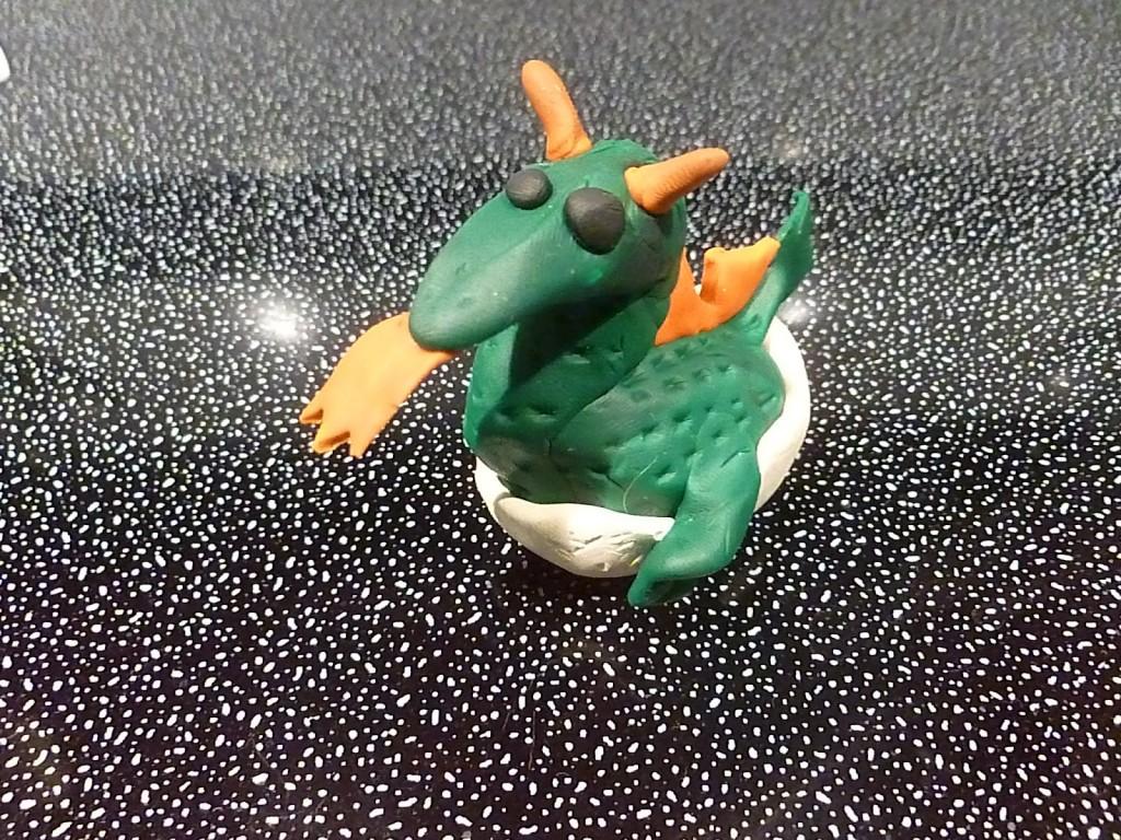 Sculpey Clay dragon