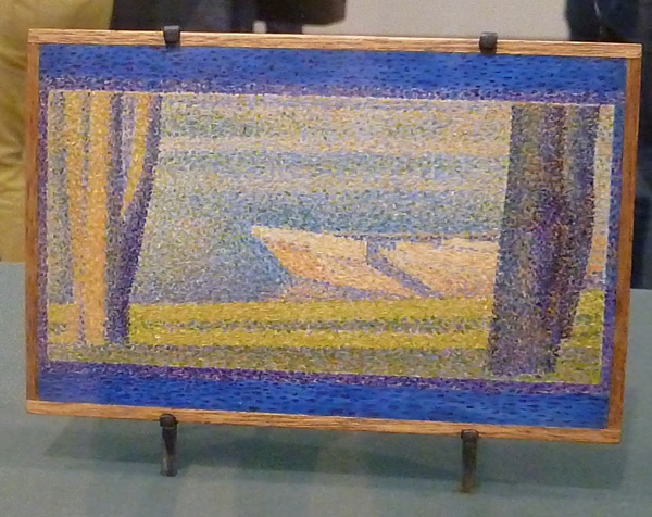 Seurat painting at the Philadelphia Museum of Art