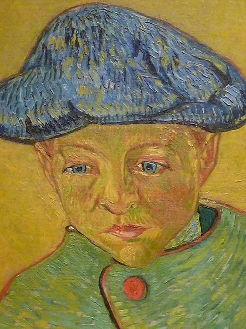 Van Gogh painting at the Philadelphia Museum of Art