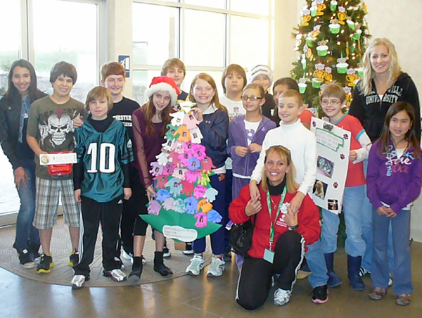 Fifth-grade class donates to the SPCA