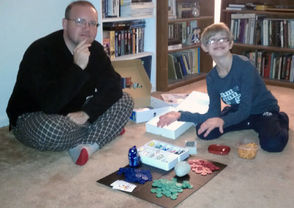 Creating a family board game