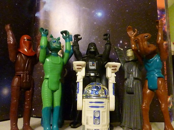 Star Wars toys from the 1970s