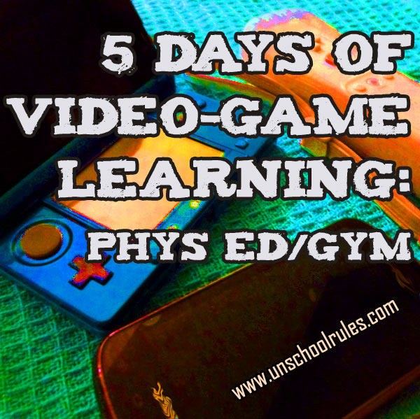 5 Days of Video-Game Learning series: Video games that promote health and physical fitness