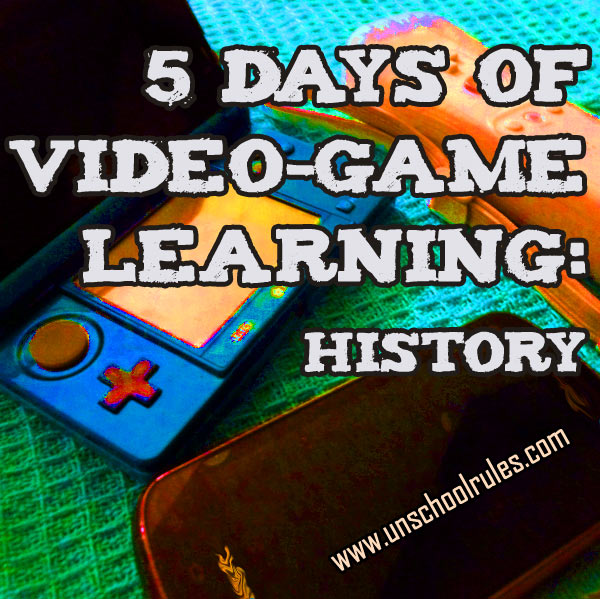 5 Days of Video-Game learning series: Video games that teach about history and geography