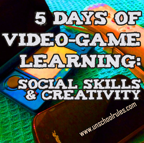 5 Days of Video-Game Learning series: Video games that teach social skills and creativity