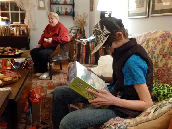 Christmas at Grandma's house