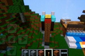 A Minecraft alien