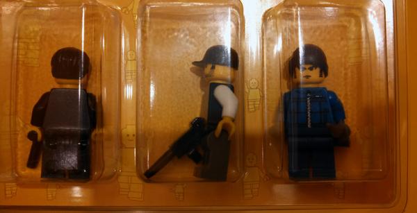 Build-your-own LEGO minifigures, James Bond-themed