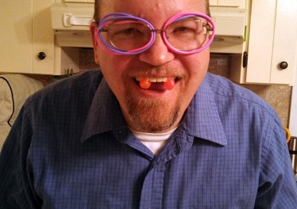 A jelly-bean vampire?