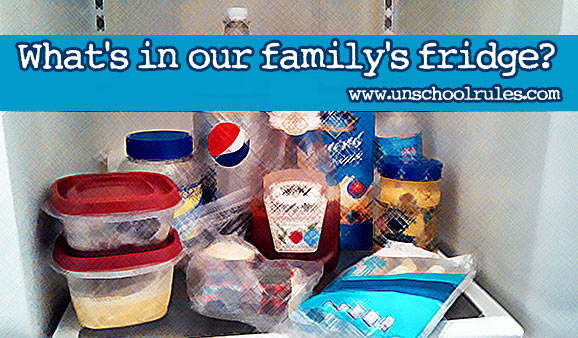 10 things you'll always find in our family's fridge