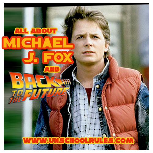 Unit study for homeschoolers about Michael J. Fox, advocate for Parkinson's Disease research and star of the Back to the Future series