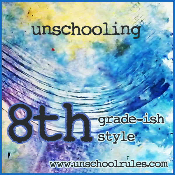 Unschooling guide for an eighth-grader