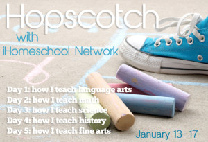 iHomeschool Network January 2014 hopscotch