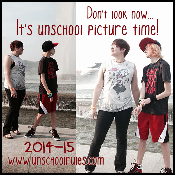 2014-15 not back to school pictures