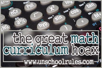 The great math curriculum hoax
