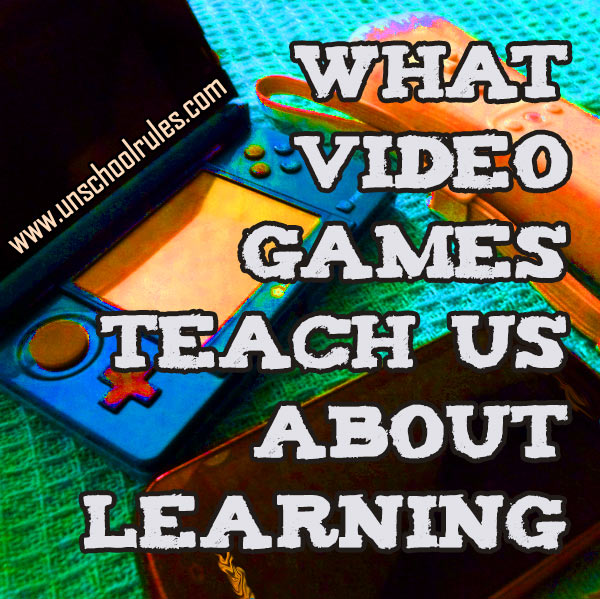 What video games teach about learning