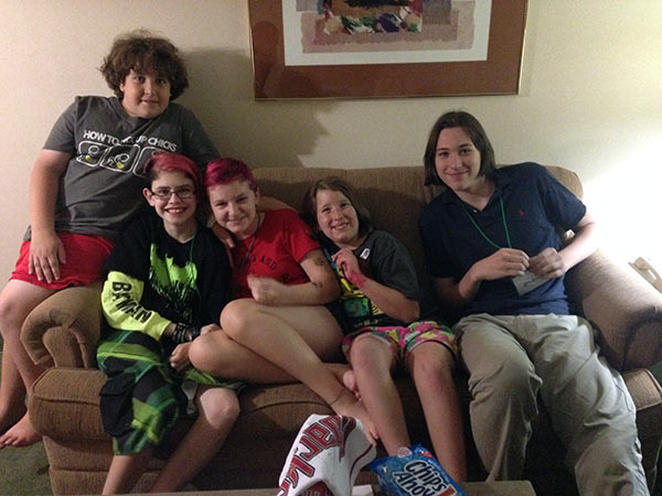 The Wolfpack. Cam, Ashar, Chloe, Liv and Quinn spent almost every waking moment of Free to Be together. Now if only the others didn't live in Arizona and Texas...
