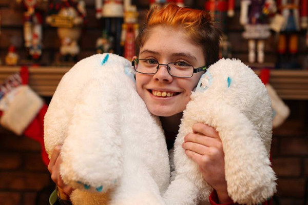 Ashar has not one but two Lovely Yetis, the larger one acquired at Christmas and the smaller one in Arizona earlier this year. Their names are A-Bomb (Abominable), and H-Bomb (Huge Abominable). Because of course.