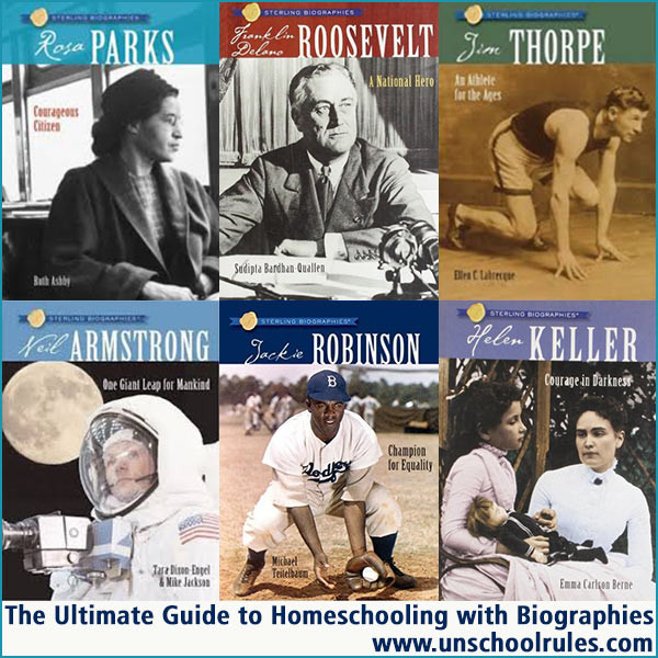 The Ultimate Guide to Homeschooling with Biographies using Sterling Biographies