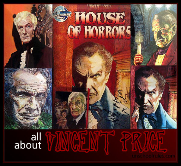 All about Vincent Price