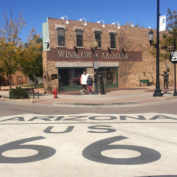 I'm standin' on the corner in Winslow, Arizona... (Sing along! You know you want to!)