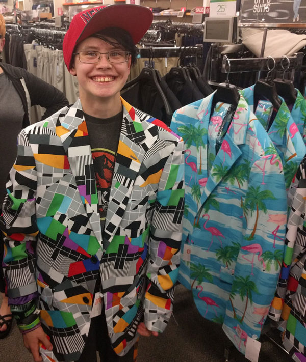 Unschool Rules - June 2017 - Kohl's is selling these fantastic suit jackets. Don't you want one? Sarah does!