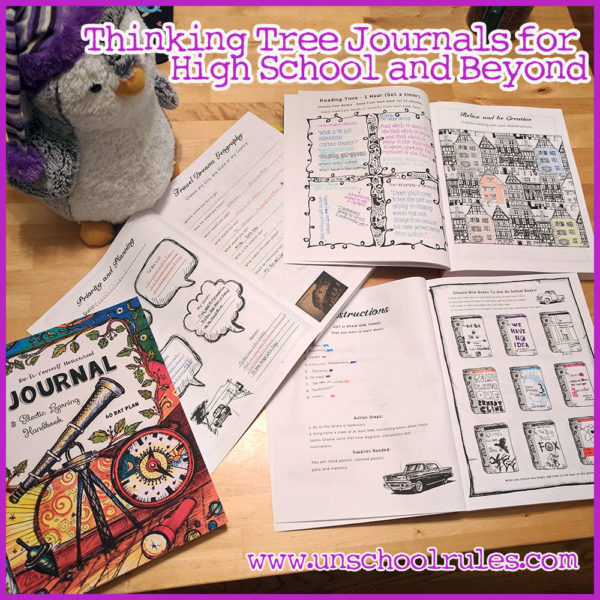 Unschool Rules: Our family's Thinking Tree journals