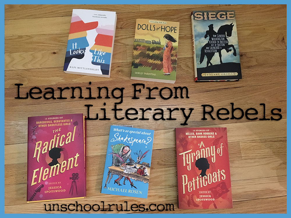 Candlewick Books for Homeschooling: Learning from Literary Rebels
