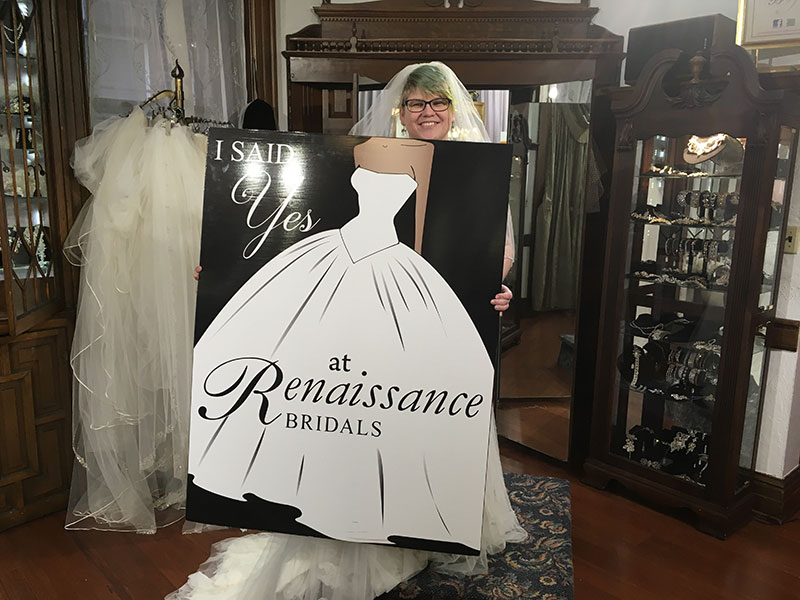 Unschooling in April 2018 on Unschool Rules: Saying yes to a wedding dress!
