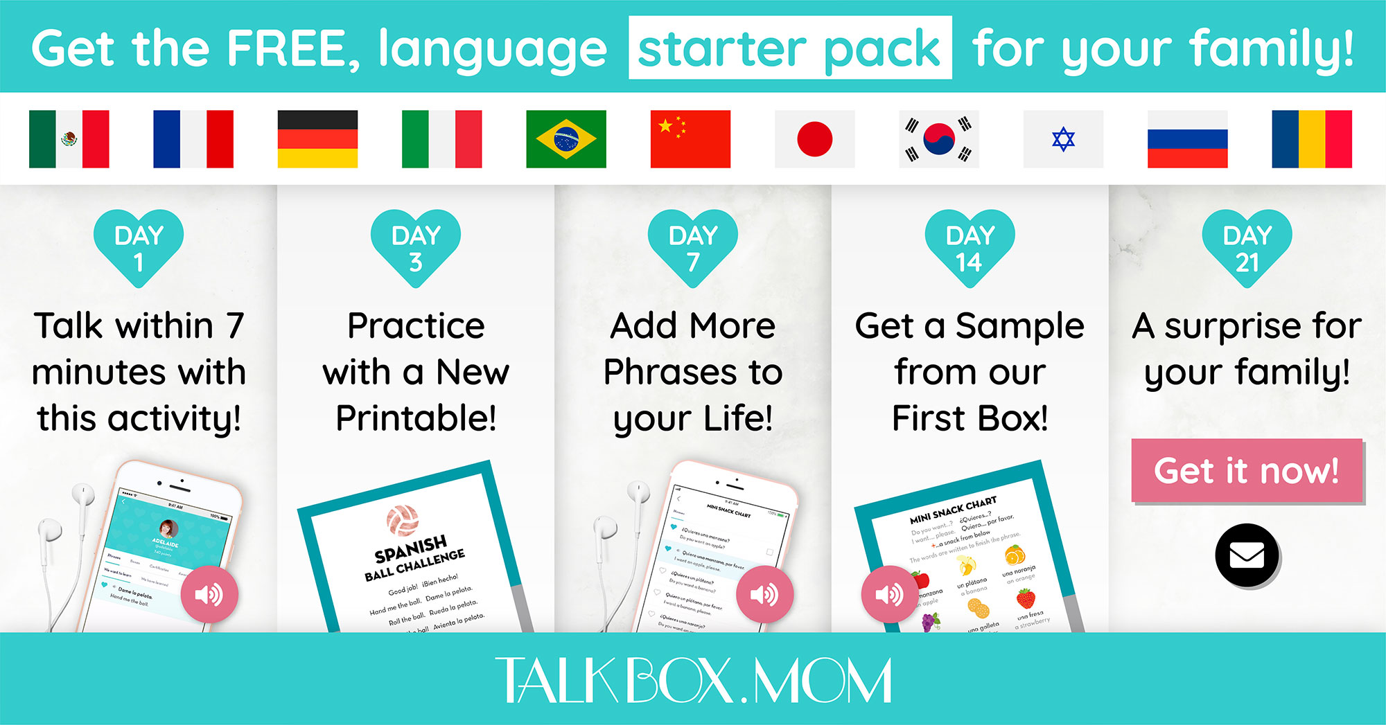 TalkBox.Mom: Learning conversational Korean as a family!